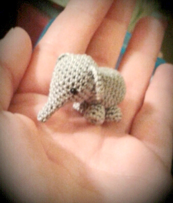 Mini Elefant Elephant Amigurumi Design