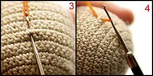 Haare Einknüpfe Knot In Hairs Amigurumi Design